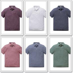 올젠 솔리드 카라 티셔츠 ZOZ2TT1301