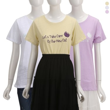 야옹이 티셔츠 ZW9ME3040
