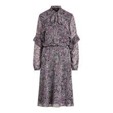 로렌 랄프 로렌 페이즐리 프린트 조젯 드레스(WMLRDRSS6820008500)