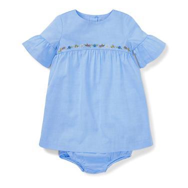 폴로 랄프 로렌 베이비 셔링 드레스 앤 블루머(CWPODRSF3M10163B28)