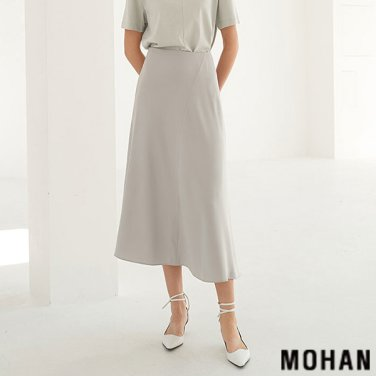 [모한] MOHAN TTS UNBALANCE LONG SKIRT _ 3 COLOR (MHTTSSK006)
