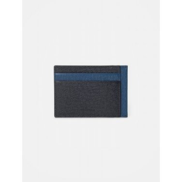 블럭 빈 낱장 카드지갑 - Navy (BE02A3M07R)