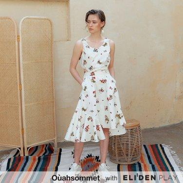 [우아솜메] Ouahsommet Two In One Piece Dress_YE (OBFOP004A)