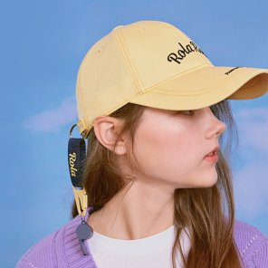 (CH-20102) ROLA WHISTLE CAP YELLOW