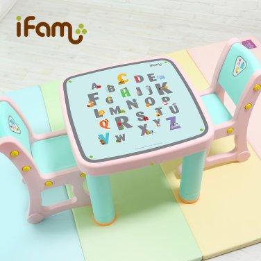 아이팜 마시멜로 책상의자세트(영어) / 유아책상/유아놀이상/공부상