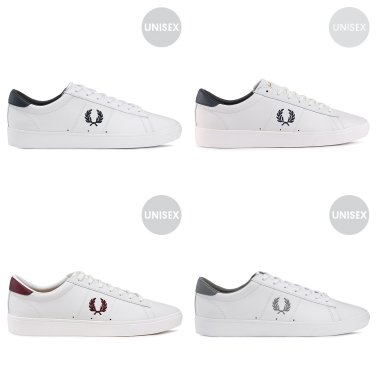 FRED PERRY  Spencer Leather 남여공용 스니커즈 4종 택1 SFPU1917521
