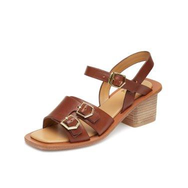 Natural leather sandal(brown) DA2AM19004BRN / 브라운