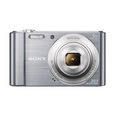 [SONY] 컴팩트 카메라 DSC-W810 [ 실버 / 가방 증정 ]