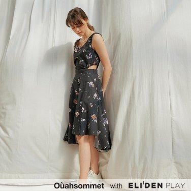 [우아솜메] Ouahsommet Two In One Piece Dress_BK (OBFOP004A)