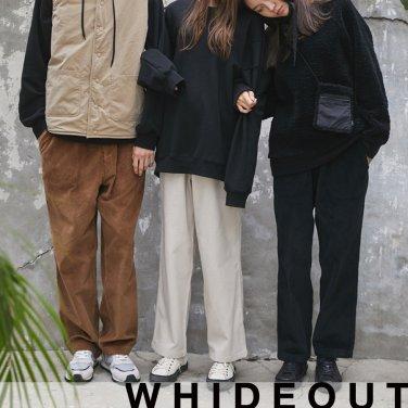 [하이드아웃][UNISEX] MODOO PANTS_WINTER [BROWN]