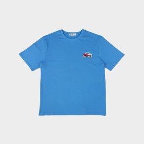 [하이레졸루션] 픽셀 자동차 티셔츠 - BLUE