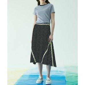 [테이즈] Trimmed Skirt 2종(19SSTAZE02E)