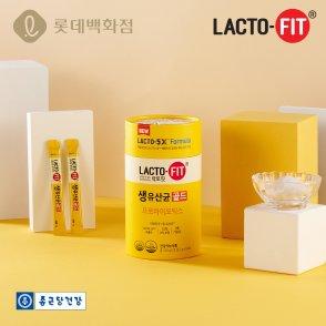 종근당건강 본사직영 락토핏 생유산균골드 5통(250포)