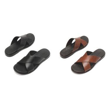 [Goldwyn Crisscross Sandal] 남성 슬리퍼 2종택일 CHSO9E022