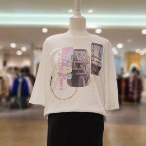 루즈핏 프린팅 티셔츠 C201PSM003