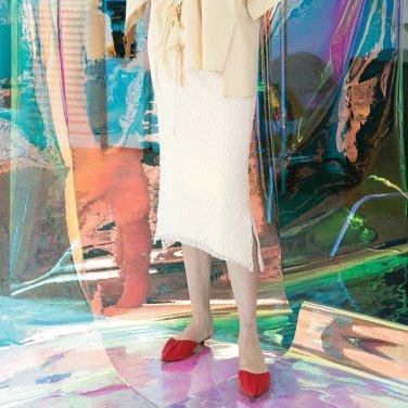 Mora Lace Arch Skirt [Ivory-Light Pink] (JC19SM2MoraSKIVFR)