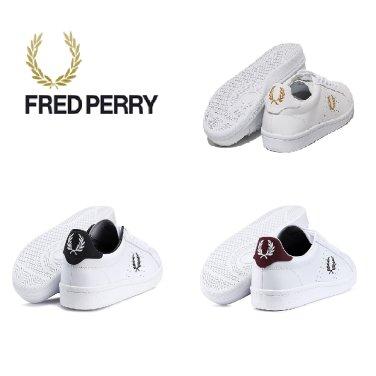 FRED PERRY 남여 공용 스니커즈 SFPU1837211-3COL B721 레더