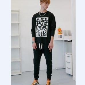 [테이즈]Bearson Fleece Lounge Pants (19TAZE44E)