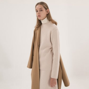 Wool Cashmere Pullover - Ivory