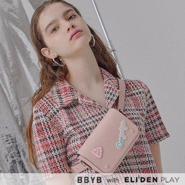 [비비와이비] BBYB Marce Tindy Belt Bag (Peach Blossom) (09I1210B9P)