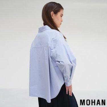 [모한] MOHAN TTS V-NECK VOLUME SHIRT _ 2 COLOR (MHTTSSH006)