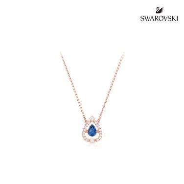 [스와로브스키] Sparkling DC Pear 블루 네크리스 5465281