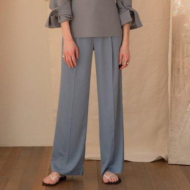 Salen Satin Trouser [Blue Grey] (JC19SSPT04_BG)