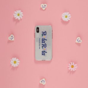(PC-20111) ROLA FLOWER JELLY PHONE CASE LAVENDER