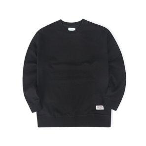 19F/W 헤리스트위드 패치 맨투맨 (블랙)