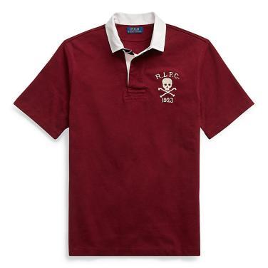 폴로 랄프 로렌 클래식 핏 코튼 럭비 셔츠(MNPOKNI1N810376B46)
