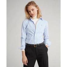 폴로 랄프 로렌 여성 스트레치 슬림 핏 스트라이프 셔츠(WMPOSHTN6810290B35)