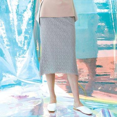 Mora Lace Arch Skirt [Cement-Light Grey] (JC19SM2MoraSKCEFR)