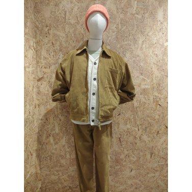 와일 코듀로이 자켓 / Rose Bowl Jacket in Mustard 8 Wale Cord / UAI2MJK1108YE00