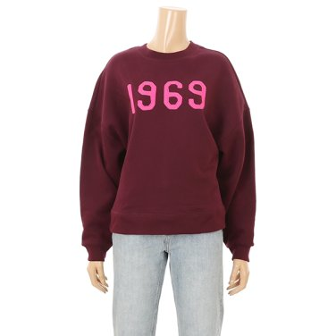 여성 1969 오버핏 맨투맨 티셔츠  5129327003061