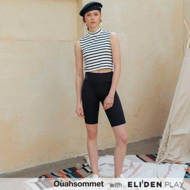 [우아솜메] Ouahsommet Slim-fit Cycling Pants_BK (OBFPT001A)