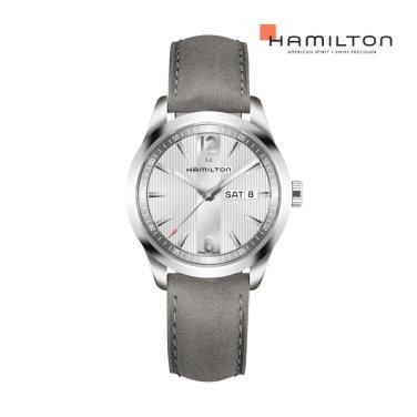 H43311915 브로드웨이 데이데이트 쿼츠 그레이 남성 시계