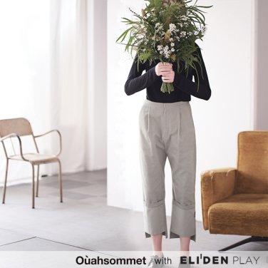 [우아솜메] Ouahsommet CORDUROY GARDENERS PANTS [MINT] (OBBPT002A)