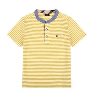 헨리넥 린넨 티셔츠(DPM11TR23M_OV)