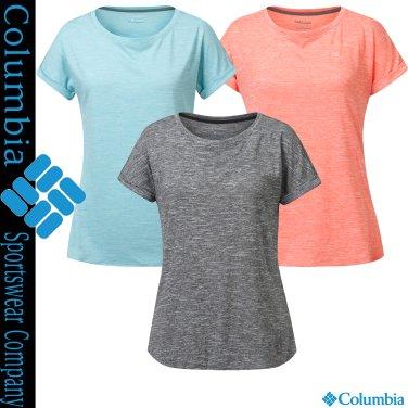 여성 부드러운 감촉 기능성 라운드 티셔츠 CX2-AR1956
