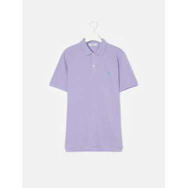 19SS  Unisex 라이트 퍼플 솔리드 칼라 티셔츠(BC9242A01V)