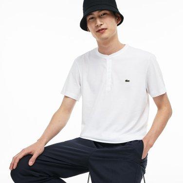 [엘롯데] 남성 헨리넥 반팔라운드 티셔츠 LCST TH0884-19B001