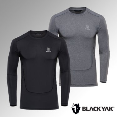 블랙야크 남성 간절라운드 E에르곤티셔츠1