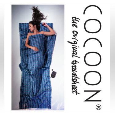 [COCOON] 코쿤 여행용 초경량 실크 라이너 체크 실크 (ST50)