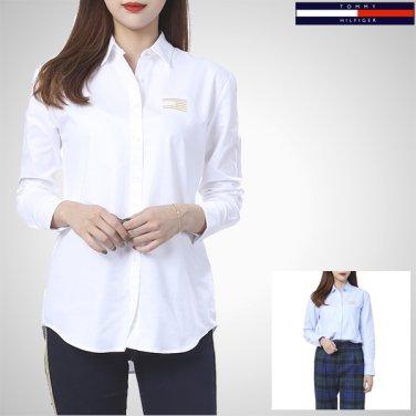 TFMS3HCE91A0(코튼 걸프렌드핏 골드자수 셔츠)