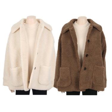 여성 양털 뽀글이 자켓 KA9W0-WGJ700