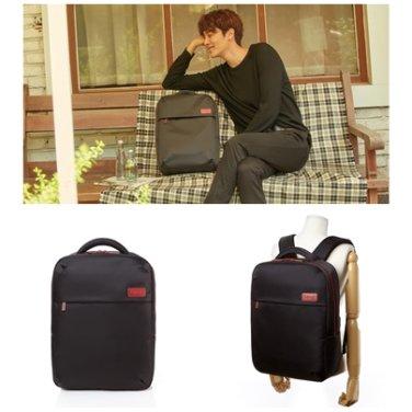 백팩 AZ001026 블랙 PLUME BASIC 남여공용 15인치 캐주얼 젠틀 가방