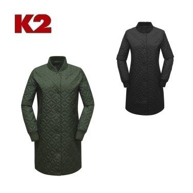 여성 라이프 롱 패딩 자켓 W (KWU18148) (버프 증정)