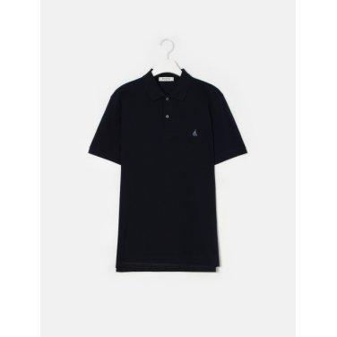19SS  Unisex 네이비 솔리드 칼라 티셔츠(BC9242A01R)