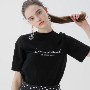 레터링 베이직 티셔츠(NW9ME902)