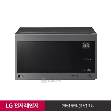 LG 스마트 인버터 전자레인지 MW25P (블랙/빌트인핸들)